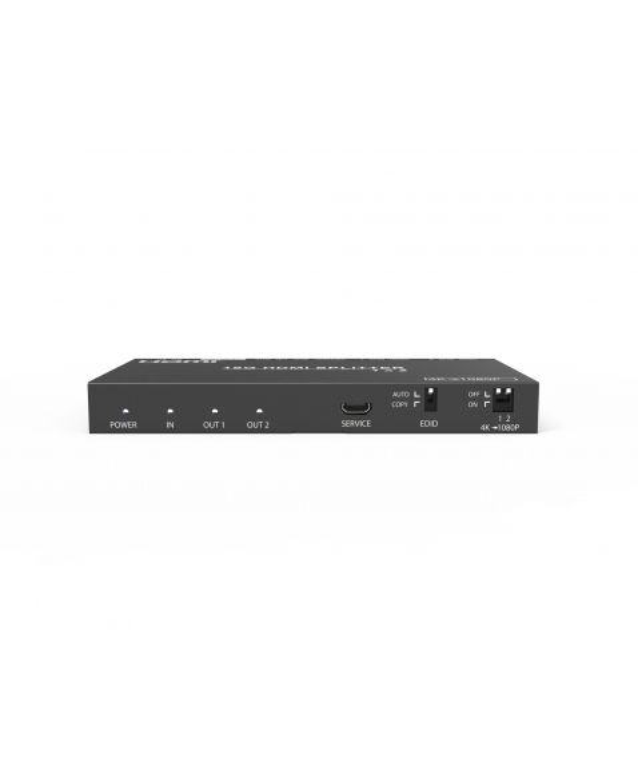 HDV12A SPLITTER HDMI 1X2 4K COM HDCP2.2 E EXTRATOR DE AUDIO