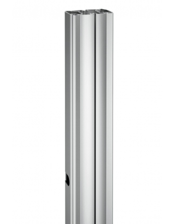 PUC 2718 BARRA TUBULAR CONNECT-IT 180CM - PRATA