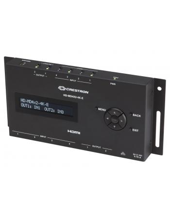 HD-MD4X2-4K-E SWITCHER HDMI 4X2 4K CRESTRON