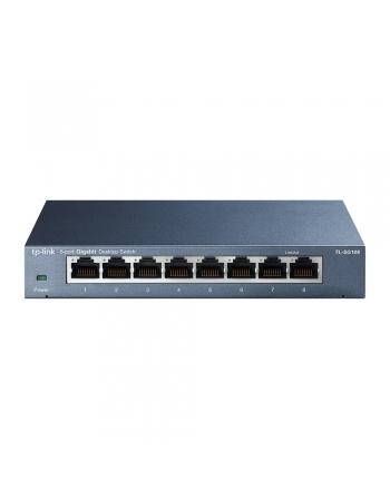 TL-SG108 SWITCH TP-LINK 8 PORTAS 10 100 1000MBPS RJ45