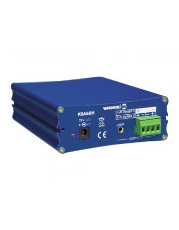 PBA 60H amplificador ultra compacto de 2x20W (@ 4 Ohm)