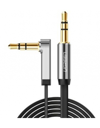 3.5MM MALE TO MALE ANGLED FLAT CABLE 1M