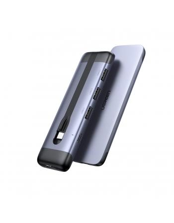70408 CONVERSOR DE ENERGIA USB-C P/ HDMI + 3 X USB 3.0A + PD