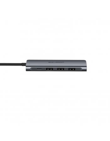 50209 CONVERSOR DE ENERGIA USB-C PARA HDMI + 3 * USB 3.0 A + PD