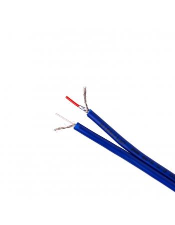 Cabo Rca 2 × 0,35mm² Capa de Dupla Blindagem para transmissão de áudio estéreo - Rolo de 100 Metros 100% Cobre