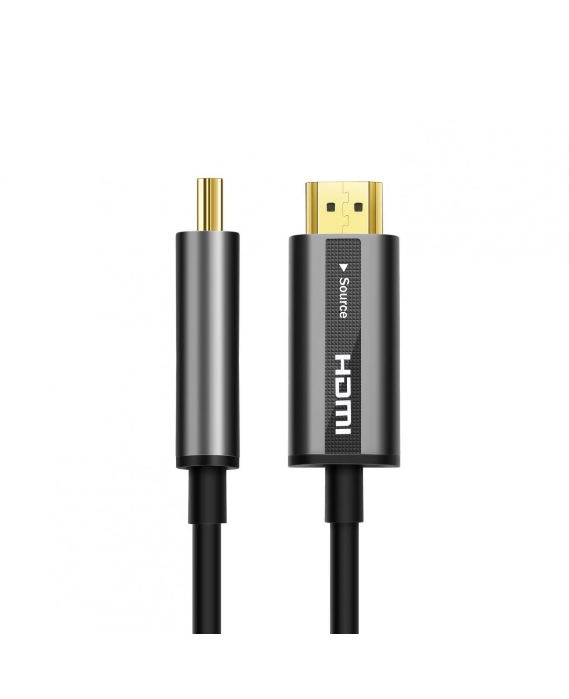 HDMI 2.0 MALE TO MALE FIBER OPTIC CABLE 30M