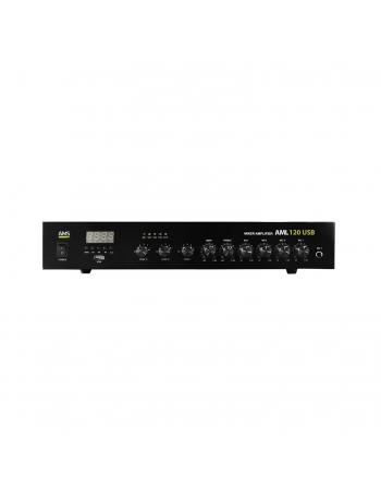 AMPLIFICADOR 120W 8OHMS-100V USB FM