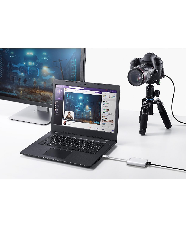 UC3020 - CAPTURA VÍDEO UVC HDMI PARA USB-C UVC