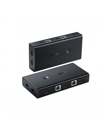 50744 COMUTADOR KVM HDMI 2 X 1