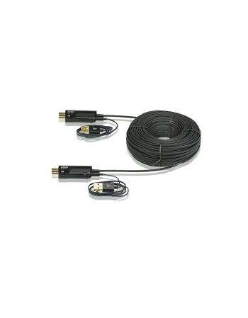 VE875 CABO HDMI ATIVO VIA FIBRA OPTICA 4K 100 METROS