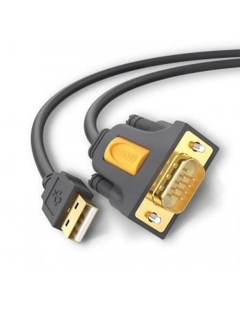 20222 CABO ADAPTADOR USB-A PARA DB9 RS-232 2M