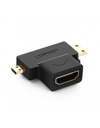 Adaptador Micro/Mini HDMI para HDMI Fêmea 20144