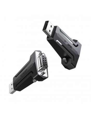 Cabo Adaptador USB-A 2.0 para DB9 RS-232 Fêmea 80111