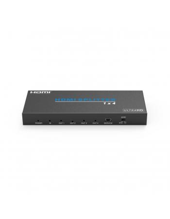 HDV14H SPLITTER HDMI 1X4 4K HDMI2.0