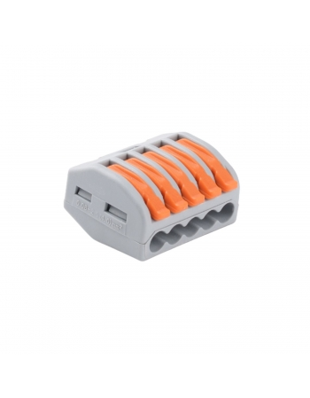 CONECTOR EMENDA DERIVACAO ELETRICA 450V 32A 5 POLOS (50 PCS)