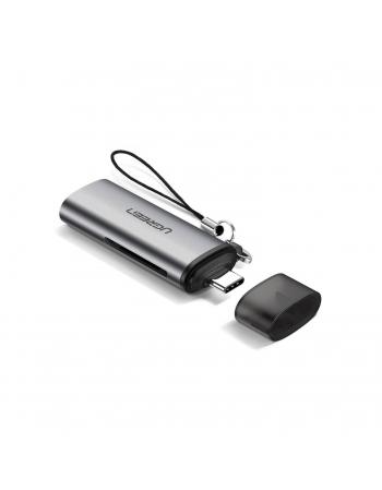 ADAPTADOR USB-C COM LEITOR DE CARTAO DE MEMORIA SD