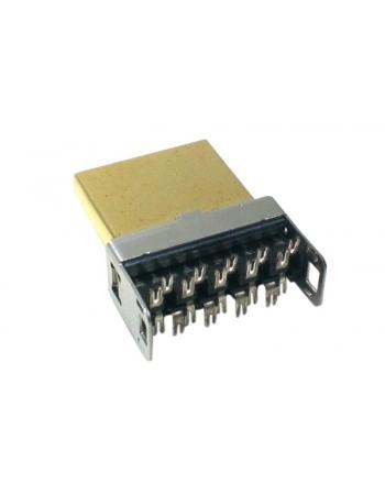 PLUG HDMI FAST CLICK GOLD (10PC)