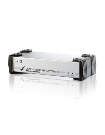 VS164 SPLITTER DVI 1X4 COM AUDIO 1920X1200
