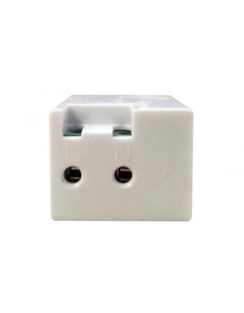 AVUSB2 KEYSTONE USB AC 5V 2A BRANCO
